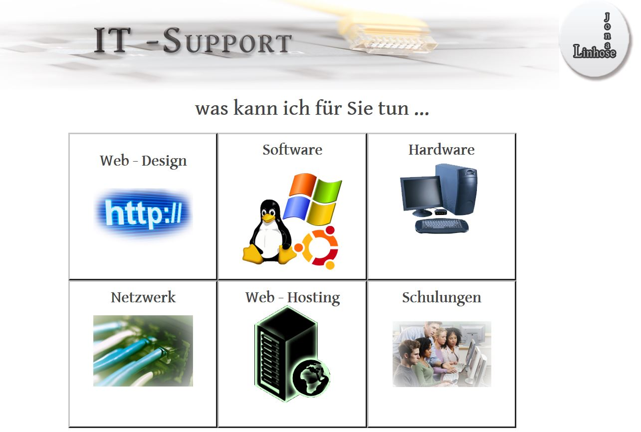 IT - Support durch Jonas Linhose